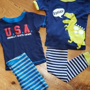 Bundle Carter's Pajama Sets Size 3T
